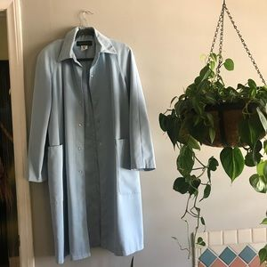 Jackets & Blazers - Vintage baby blue trench coat